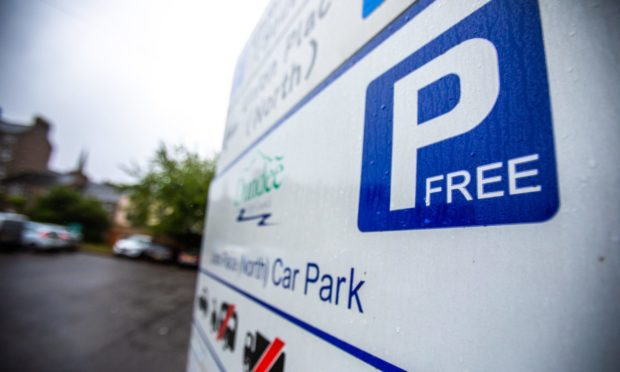 Dundee parking charges