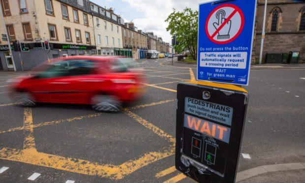 contactless pedestrian crossings