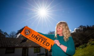 Greta Armstrong Simpson delivered the news for Dundee United managers Jerry Kerr and Jim McLean.