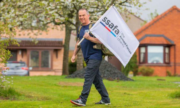 Peter McIntyre will trek the West Highland Way next month.