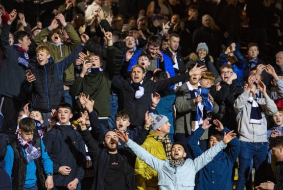 Fans could be back inside Dens Park before this season ends.