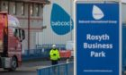 Babcock at Rosyth Business Park.