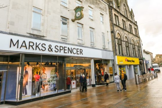 The former M&S store has been handed over to NHS Fife for use as a Covid-19 mass vaccination clinic.