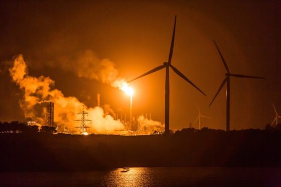 Residents are being warned of flaring as work begins on the £140m upgrade for the Mossmorran site.