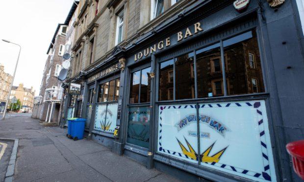 The Tay Bridge Bar in Perth Road.