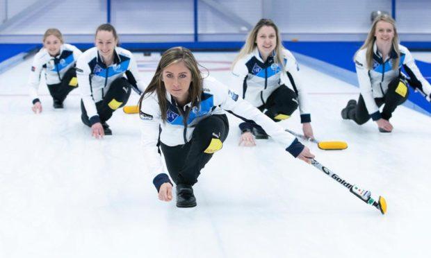 Team Muirhead - ready to start their World Championships.
