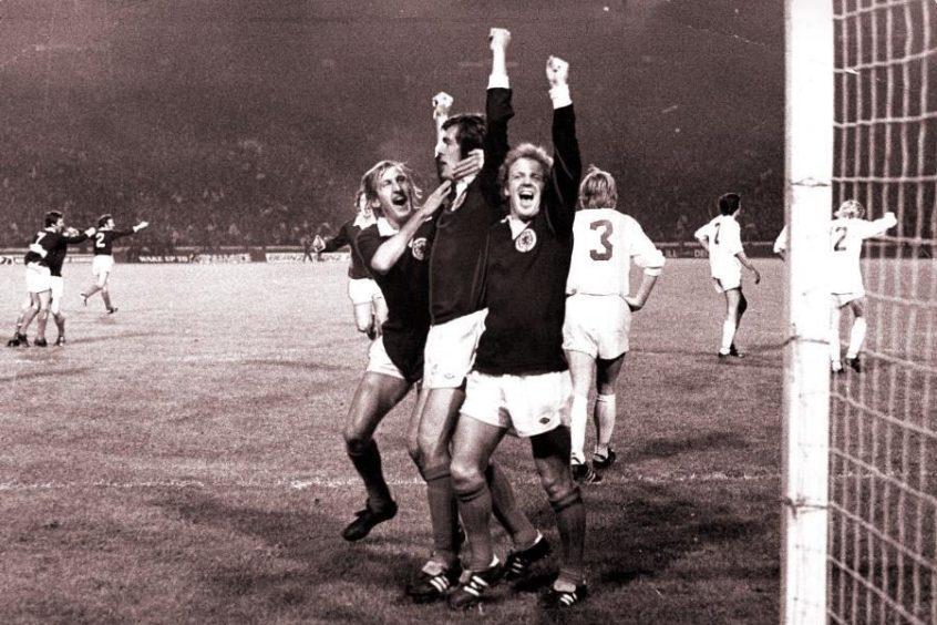 Scotland v Czechoslovakia, 1973.