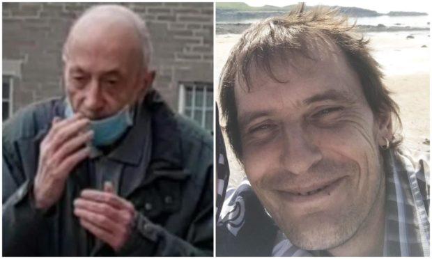 Ian McFarlane, left, killed cyclist Scott Walker, right.