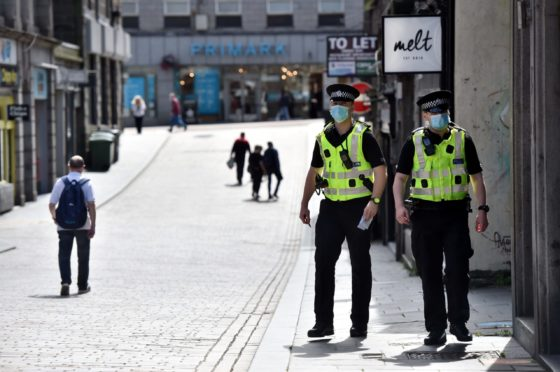 Police have promised increased patrols across Tayside and Fife