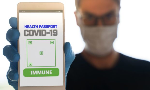 An app will likely be needed to prove vaccination soon