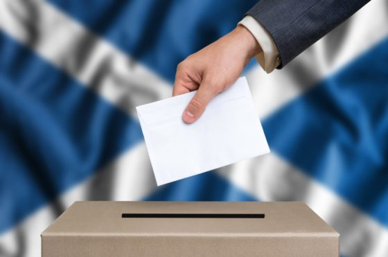 Scots go to the polls on May 6.