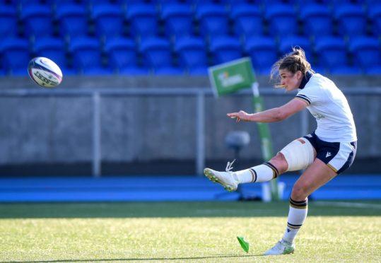 Captain Helen Nelson has been the best placekicker in the Women's Six Nations.