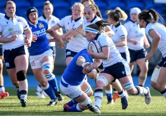 """Scotland have challenged themselves in training after admitting the performance against Italy """"wasn't good enough""""."""
