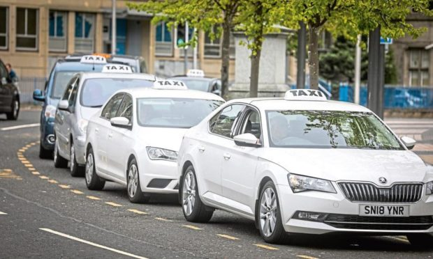Dundee taxi drivers funding
