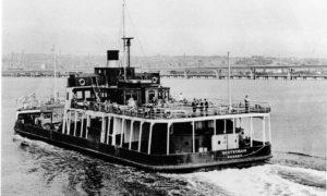 The Scotscraig crosses the River Tay.