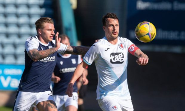 Dundee and Raith face each other in the play-offs this week.