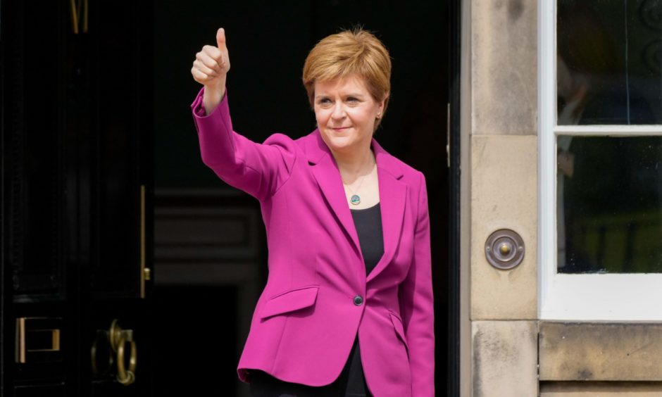 first minister election