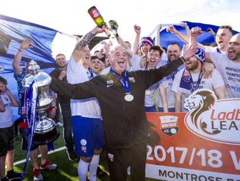 Andrew Steeves insists Montrose have an unbreakable bond at the Angus club