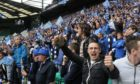 St Johnstone fans at their last Scottish Cup final.