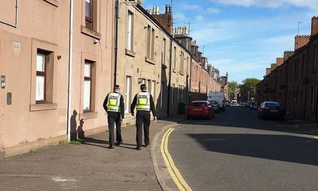 police patrols Arbroath