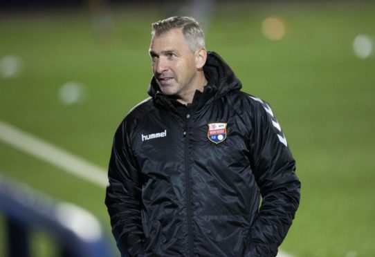 Montrose manager Stewart Petrie