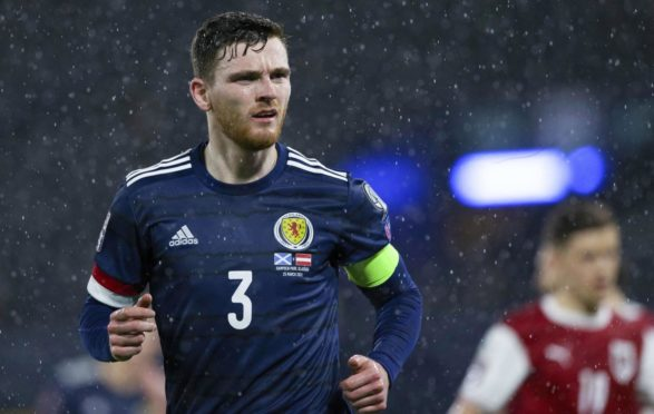 Robertson will lead Scotland out at Euro 2020