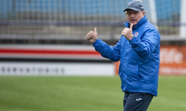 Pressure's off: McGlynn