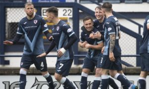 Raith Rovers 2-0 Dunfermline: Lewis Vaughan and Gozie Ugwu are Fife derby heroes as John McGlynn's men tee up Dundee playoff clash