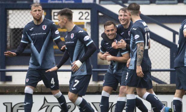 Rovers celebrate