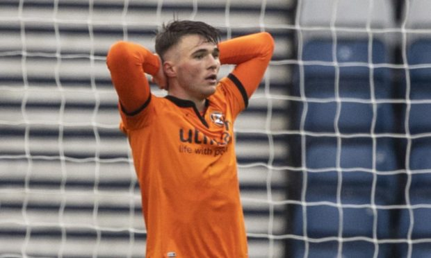 Dundee United defender Jamie Robson is gutted to be out of the Scottish Cup.
