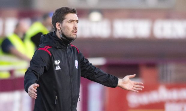 Michael Paton has left Brechin City after their relegation to the Highland League