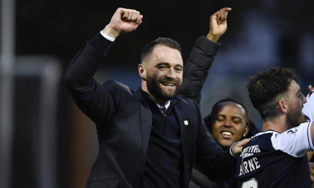 Dundee boss James McPake's success has inspired Robertson