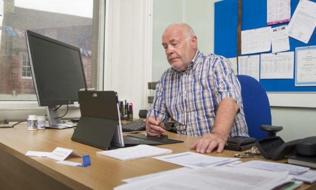 Angus Council leader David Fairweather