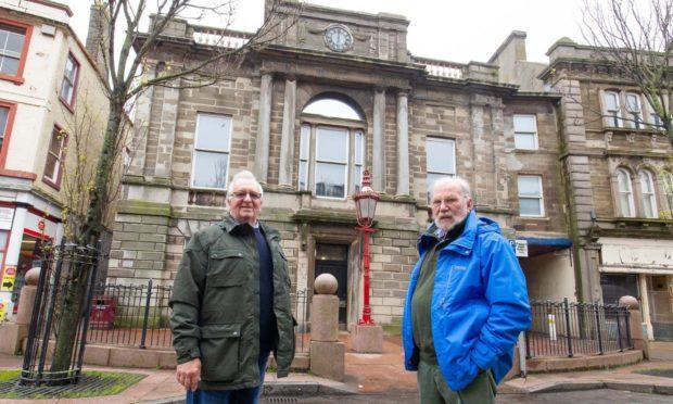 ACCT trustee Harry Simpson (left) and chairman Angus Roberts.