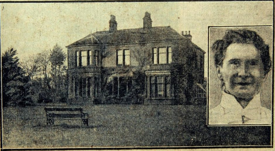 Jean Milne and her Elmgrove home.