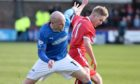 Bobby Barr faced Rangers during his second spell at Glebe Park