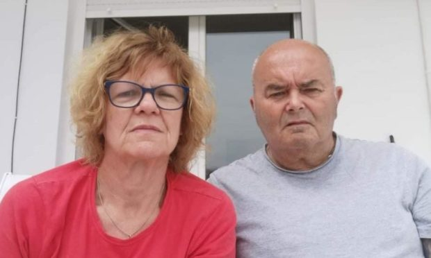 Former Isle of Lewis couple, Alison and Drew Frizzell, can't get a Covid-19 vaccine as tourists are set to arrive on Crete.