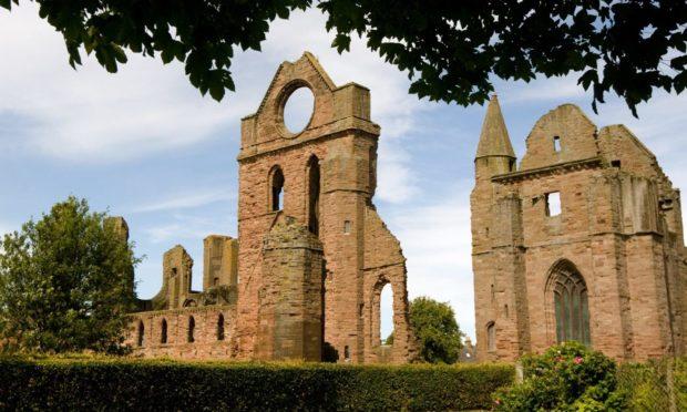 Arbroath Abbey vandalised