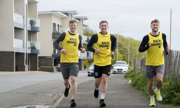 Steven Sheehan, Andy Melville and Joe Pepper took part in a David Goggins Challenge, they ran 4 miles, 12 times over a 48-hour period around Broughty Ferry.