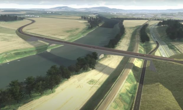 Cross Tay Link Road