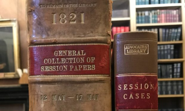 First Session Cases from 1821