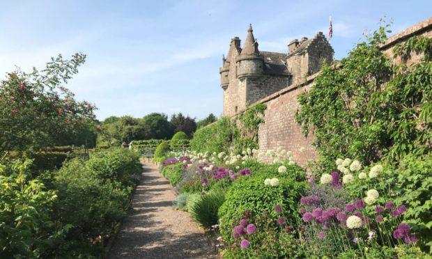 Gardyne Castle in Angus.