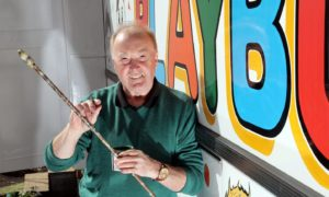 Brian Robertson was the man who brought colour to the Dundee bus fleet for decades as a traditional signwriter.