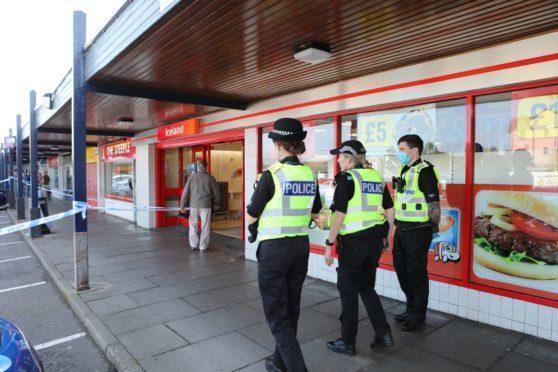 Stabbing Dundee supermarket