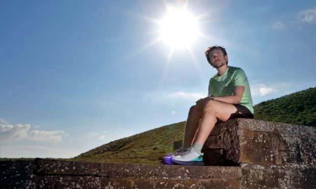 Ethan Bell will honour best pal Bailey Menmuir in his weekend marathon.