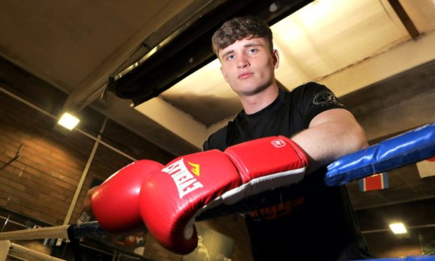 Dundee boxer Sam Hickey is a rising star in the sport.