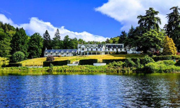 The Green Park Hotel in Pitlochry.