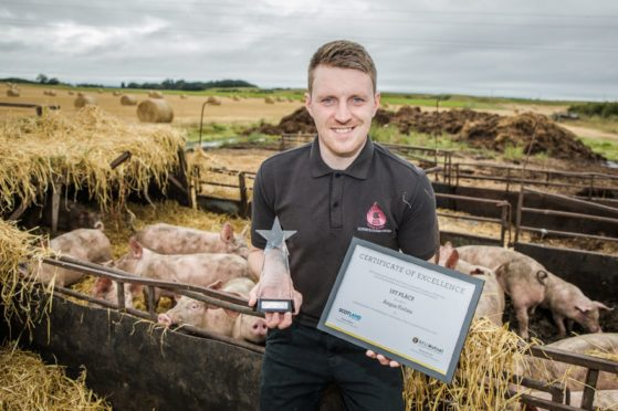 Gus Forbes from Nairnshire company Forbes Farm Fresh won the award in 2019.