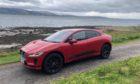 Jaguar I-Pace on the Morvern Peninsula