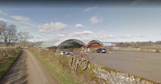 The car was stolen on Sunday for the garden centre